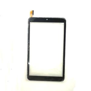 الشاشات التي تعمل باللمس لوحة محول الأرقام للحصول DP080686-F2-A 8 بوصة مصنوعة في الصين استبدال اللوحي أجزاء الأسود 100٪ ضمان الجودة