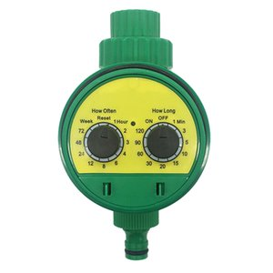 Otomatik Sulama Timer Sulama Timer Küresel Vana Elektronik Sulama Kontrolörü Su Zamanlayıcı İçin Bahçe Sulama Sistemi T200530