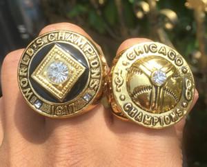 2ST Chicago 1906 1917 White Sox Baseball-Team-Meister-Meisterschaft-Ring Set Souvenir Männer Fan-Großverkauf 2019 2020