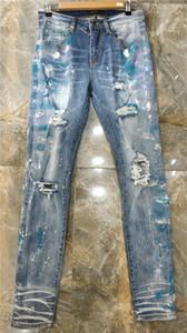 NOVO ESTILO DE LUXO verão simples mens moda Slim-LEG JEANS tecido stretch SLIM Alto grau de água reciclada GENEROSO estilo casual TAMANHO 29-38