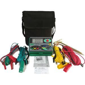Megóhmetro 0-2000 ohmios Real Earth Earth Tester Dy4100 Medidor de Tester de Resistencia a Tierra T8190619