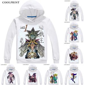 Millennium Puzzle Sennen Pazzuru Mens Hoodies Duel Monsters Yu-Gi-Oh King of Games Men Sweatshirt Streetwear Anime Hoodie Long Hooded