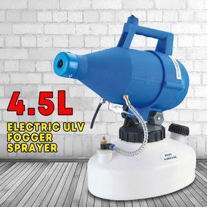 110V / 220V elétrica Fria Nevoeiro Ultra Baixo Volume pulverizador ULV de 3 buracos Insecticidal Air Esterilizador Epidemia Aerosol Atomizador 1000W 4L 2020nian