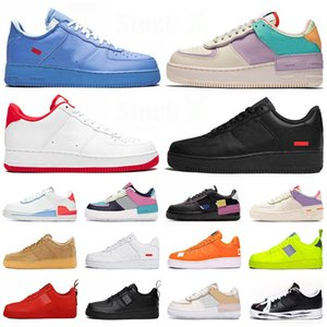 nike air force 1 forces Shadow airforce off white Low MCA MOMA stock x 2020 Designer Trainers Hombres Mujeres Zapatos para correr Marca lujo Zapatillas deportivas de moda