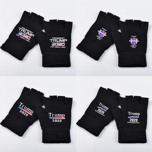 Trump 2020 Luvas Mantenha luvas Carta Magna Bandeira Impresso América Exteriores Desportos de Inverno Luvas quentes 2pcs / pair LJJO7506