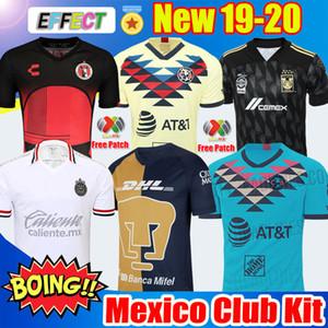 Nueva llegada 2019 20 Club America Soccer Jerseys 2020 México Club de Cuervos Local Visitante Tercera Guadalajara Chivas kit 19 20 Camisetas de fútbol club america football jersey