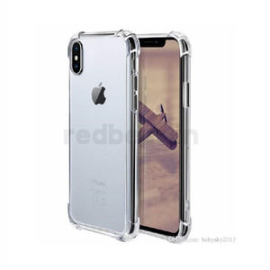 Cover Shockproof Ultra-Thin transparent Soft TPU For Iphone XS XR XS max