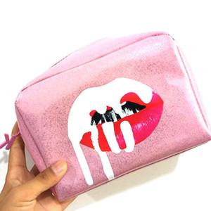 Горячая Oswego макияж Сумка женская косметическая сумка на молнии мода большой PU сумка для хранения Дамы путешествия организатор женщины составляют случаи