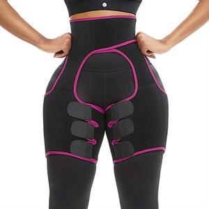 2020 جديد إمرأة السيدات التخسيس shapewear النيوبرين الغنيمة رافع الساق الجسم المشكل سروال الخصر المدرب