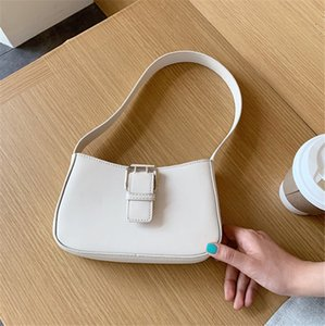 Baguette Bags Simple Single Shoulder Armpit Women Bag Fashion Hand Carry Bag 5colors PH-CFY20051840