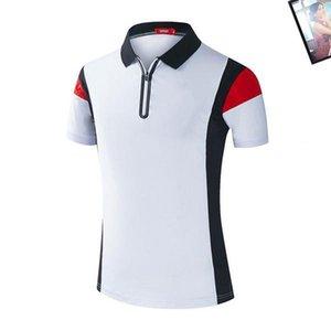 Designer Mens Polo Shirts New Arrival Famous Sports Car Logo Polo Shirts Mens Luxury Car Short Sleeve Summer Tee