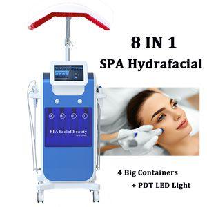 Su Oksijen Hydra Yüz Makinesi Hidro Mikrodermabrazyon Cilt Bakımı Gençleştirme Spa Hydafacial Kırışıklık Temizleme Tedavisi Hydra Makinesi
