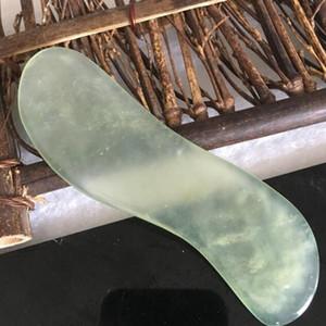 2020 форма Dropshipping Натуральный камень нефрит Guasha Гуа Ша совета S Массаж рук массажер Релаксация Health Care Красота инструмента