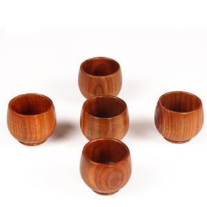 Натуральная твердая древесина Чашка чая Деревянное вино Кофе Вода Питьевая кружка Деревянная чайная посуда Кухня Бар Офисная посуда