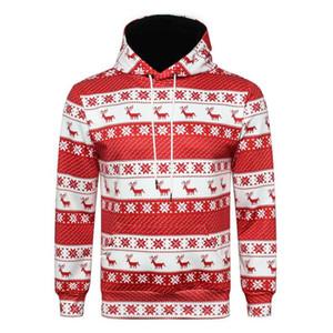 Hirigin unisex harajuku sudaderas nueva navidad mujeres hombres novedad jumper retro sudadera con capucha suéter superior par de ropa