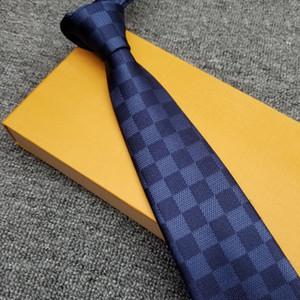 9 Стиль New Silk Mens Tie Brand Шелковые галстуки высокого качества шеи Галстуки Повседневный Business Tie Конкретизируйте Edition 8.0cm подарка партии Necktie