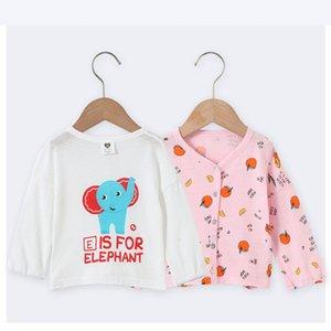 Baby clothes top summer shirt girl clothes boy sunscreen shirt long sleeves kids front opening cotton & viscose