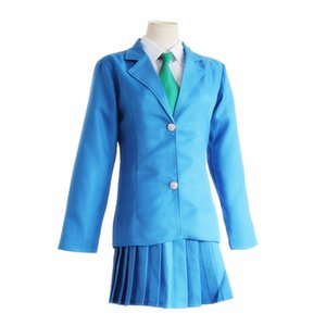 Detective Conan Cosplay Kudou Shinichi Kudo Jimmy Mouri Ran Rachel Moore Blu School Uniform Suit Halloween Party Wear