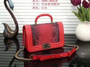 Berühmte Markendesigner der neuen Art und Weise Dame Stadtstreicherin schrägen Quer einzelne Schulter 951 Schlangenkette Wrap Xiang Jia Frau Tasche
