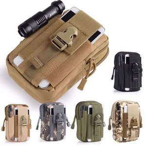 Loogdeel Tactical Belt Waist Bag Molle Hunting Pouch Camping Waterproof Mobile Pocket Running Outdoor Small Bag for Iphone