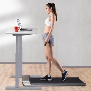 [DIRECT US] WalkingPad A1 الرياضة المطحنة من mijiaYoupin الذكية المشي للطي آلة الوسادة تشغيل آلة الكهربائية