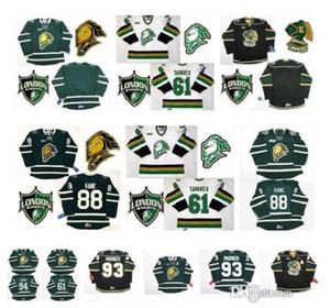 OHL Londra Cavalieri Jersey 93 Mitch Marner 16 Brad Smyth 91 Nazem Kadri 94 Corey Perry 88 Patrick Kane 11 John Carlson Tavares Hockey Jersey