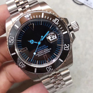 2019 U1 factory 116610 Date Ceramic Bezel Sapphire Glass Automatic Asian 2813 Stainless Steel Jubille bracalet Clasp men Mechanical watch
