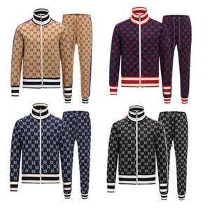 Gucci sportswear 2019 hommes Marca Progettista Survêtement survêtements voir automne hommes Survêtements Jogger Costumes lusso Veste Pantalons Ensembles de sport Costume xshfbcl