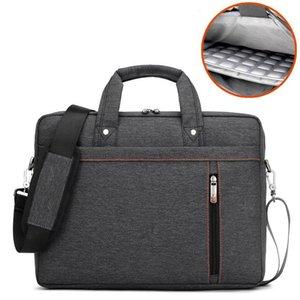 Sac étanche pour ordinateur portable 17 15,6 15 17,3 14 13,3 13 12 pouces Sac à main épaule d'affaires Messenger hommes et unisexe Computer bag21