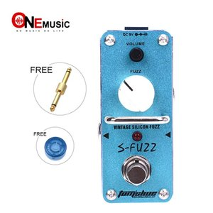 New AROMA ASF-3 S-FUZZ Vintage Silicon Fuzz Effect Mini Analogue Effect True Bypass+Free Connnector