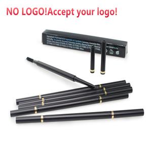 NO LOGO! Qualitäts-automatischer Augenbrauenstift 6 Farben wasserdichte Augenbraue-Feder mit Bürste Augenbraue Make-up-Tool akzeptiert Ihr Logo