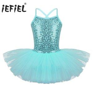 فتيات إيفيل الباليه الفاخر الباليه التنكرية Tutu Dancewear Teen Kids Ballerina Gymass Leotard For Girls Professional Ballet Dress