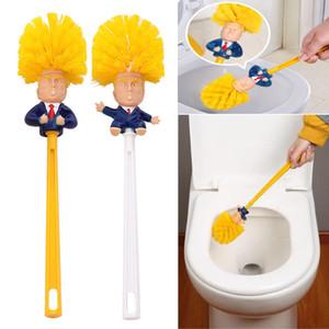Trump Tuvalet Fırçalar Duş Odası Plastik Saplı Fırça Ev Temizleme Fırçaları Araçları Komik Basit Pratik Malzemeleri 4 Stil WX9-1390