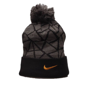 Nike Top qualidade das mulheres dos homens de Inverno chapéu de malha de lã Beanie Feminino Moda Casual Outdoor máscara de esqui Caps quente grossa Chapéus para mulheres Homens