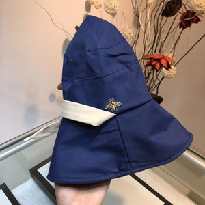 Boxs ile Erkek Kadın Tasarımcı Caps Lüks Cimri Brim Şapka Moda Küçük Arılar Beyzbol şapkası Marka Şapkalar 4 Model Seçenekleri yüksek Kalite