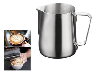 NUOVO 200 ml 6,8 oz acciaio inossidabile caffè latte latte schiuma tazza brocca per caffè espresso latte frullato arte bicchieri