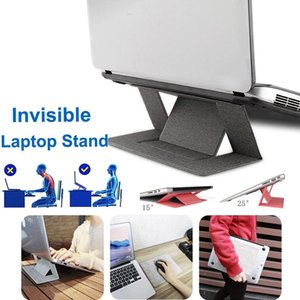 Laptop Cooling Stand di supporto del vassoio di Riser Table Desk portatile regolabile IPad porta cellulare portatile