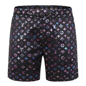 pantaloncini estivi impermeabile e ad asciugatura rapida costumi da bagno Costumi uomo Costumi da bagno firmati Medusa degli uomini di colore nero pantaloncini da spiaggia per uomini