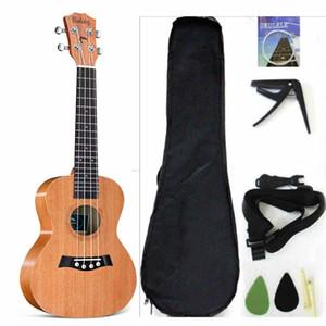 Tenor Ukulele Solid Top Mahogany 26 '' Аксессуары для укулеле с большой сумкой