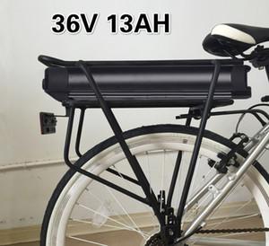 36V 13Ah batteria bici elettrica 36V moto elettrica Batteria 18650 al litio 36v 500w ebike Batteria portapacchi posteriore 350W 450W