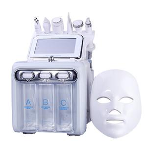 yüz masajı makinesi temizleme ultrasonik cilt RF Hydra derin yüz gözenek 1 bakım aracı küçük Kore kabarcık 7