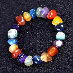Неравномерность Агат натуральный камень браслет ювелирных женщин браслеты мужские браслеты шарика ювелирных изделий шарма способа браслета будет и песчаная подарок