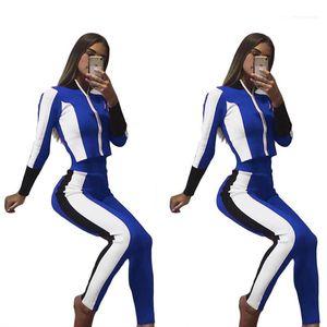 2adet Giyim Setleri Pantolon Tops Casual Suit Kadınlar Fall Pantalones eşofman Sonbahar Spor