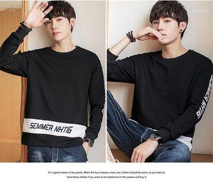 Plus Size Vêtements Homme Printemps Eté Mens Designer Lettre Hoodies Imprimé Contraste Couleur Homme Sweatshirts