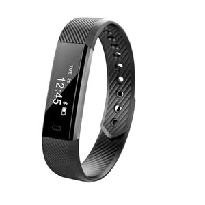 Best Selling ID115 Smart Wristbands Fitness Tracker Smart Bracelet Pedometer Bluetooth Smartband Waterproof Sleep Monitor Wrist Watches