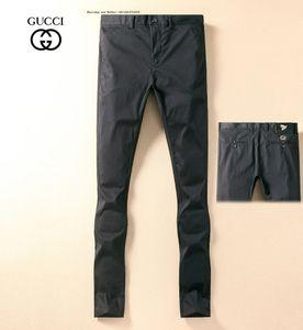 52811 High Street Trend uomo Jeans fare usati Hole Ricama Slim piedi piccoli Locomotive Pantaloni Jeans Biker