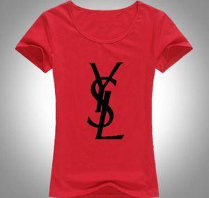 Frühlingssommer neue Frauen Kurzarm T-Shirt Baumwolle bedruckte T-Shirts machen ungefüttert Oberbekleidung Freies Verschiffen