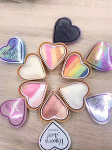 Highlighters for face Blush Highlighters 6 color Highlighters Bronzers Facial highlight love goddess ot love lightening Mermaids heart