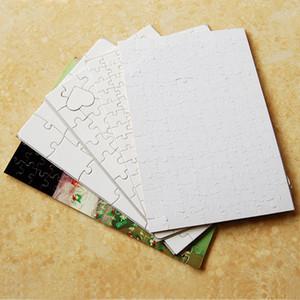 Regalos A5 sublimación de transferencia en blanco Rompecabezas caliente perla DIY papel Puzzles Juguetes Consumibles Niño Rompecabezas A03