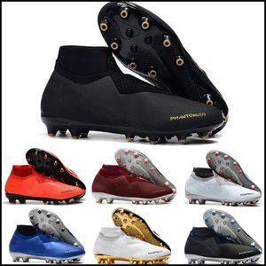 2019 erkek futbol ayakkabıları çocuklar Phantom VSN Gölge Elite DF AG-PRO futbol krampon Oyun Bitti krampon scarpe da calcio